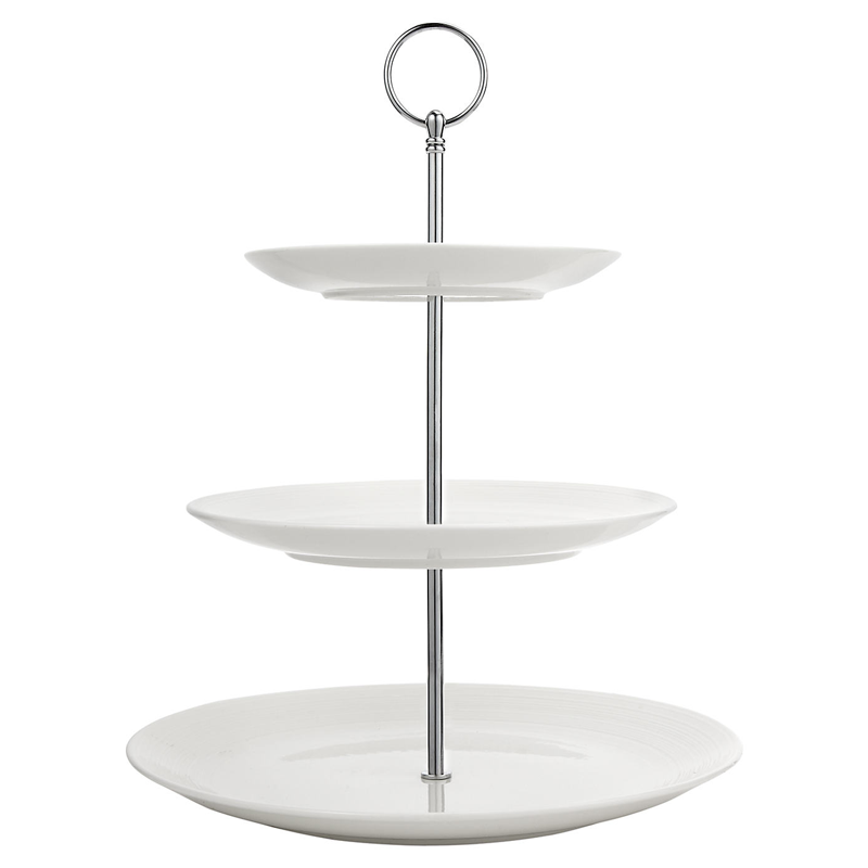 Plastic  Tiered Cake Stand